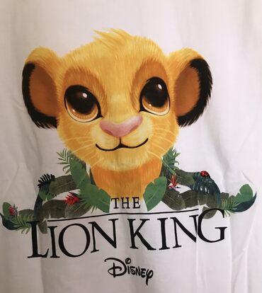 Sako sa - Srbija: ZARA Disney LION KING zenska majica.  Disney kolekcija.Bele boje. Kra