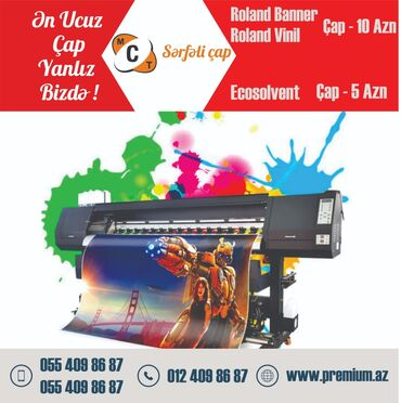 Reklam, çap - Azərbaycan: Reklam, çap | Vizitkartlar, Təqvimlər, Kataloqlar | Montaj, Dizayn, Çap