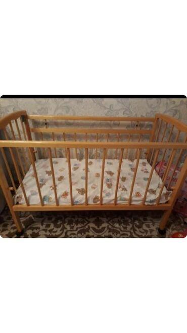 бу детские кроватки в Кыргызстан: Детская кроватка новая почти не пользовались. В идеальном состоянии. Р