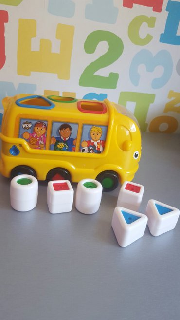 WOW igracka autobus, kao novo, interaktivna igracka... sa - Nis