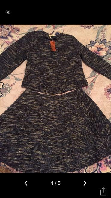 Продаю костюм новый, размер 46, ткань в Бишкек