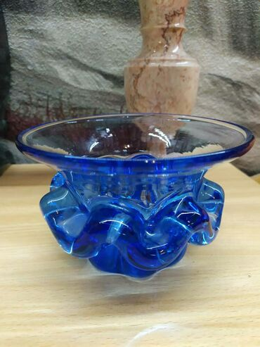 Продаю вазы стеклянные Желтая ваза Стеклянная ваза Желтая вазаСиняя