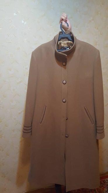 Женское пальто размер 52. в Бишкек