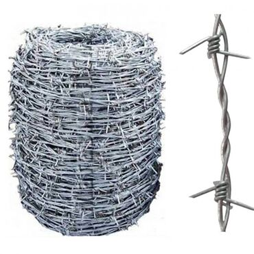 81 объявлений | ДОМ И САД: Проволока стальная колючая, гладкая, рифленая,  сварочная и