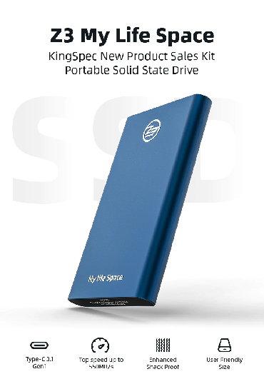 ssd диски sandisk в Кыргызстан: Внешний SSD 512Gb USB Новый жесткий диск.Алюминиевый корпус. Размер