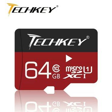 Bakı şəhərində Tәzә qutuda 64 GB Class 10 SD kart (mikro kart)bütün telefon vә