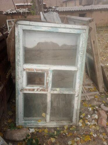 Окна, деревянные. Г.Нарын длина: 1.38 ширина: 87