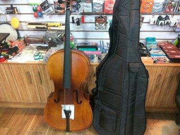 Другие музыкальные инструменты в Кыргызстан: Виоланчел 4/4 новая. дом торговли. muzstore.kg