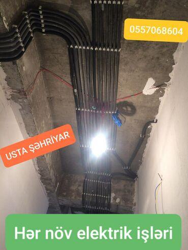etazherki za knigi в Азербайджан: Hər növ elektrik işləri