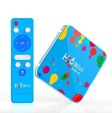 tv box - Azərbaycan: H96 Mini 4/128GB smart tv box.H96 Mini H6 ( H 96 Mini ) Smart TV