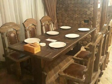 ailevi restoranlar - Azərbaycan: Restoranlar ucun masa ve oturacaqlarin hazirlanmasi