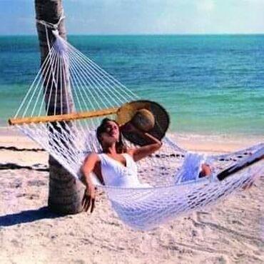 Barska-stolica - Srbija: 🏖Ležaljka za odmor u obliku mreže istkane od pamučnih niti.🏖Dimenzije