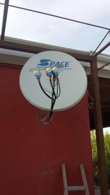 Peyk antenalarının quraşdırılması | Quraşdırılma