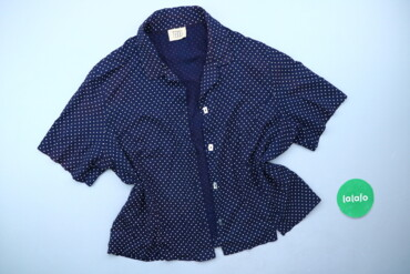 Жіноча блуза у мілкий горошок Teddi, р. XXL   Довжина: 56 см Ширина пл