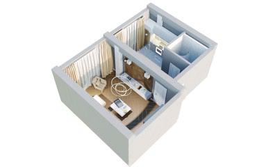 Продаю 1 комнатную квартиру в мкр.Достук под ПСО в Бишкек