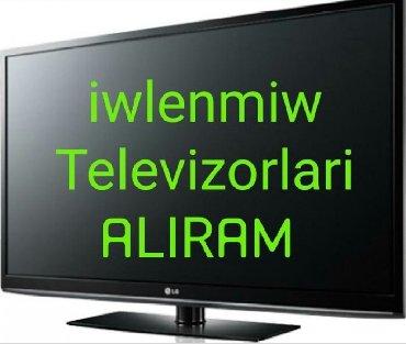 - Azərbaycan: Yeni ve ikinci el televizorlari en munasib qiymete alisi