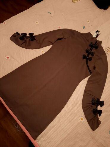 Красивое платье, Kosmika. Размер 40-42 (XS) коричневого цвета. Новая