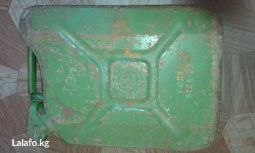 Продаю канистру 10л под топливо, стальная, советская. в Бишкек
