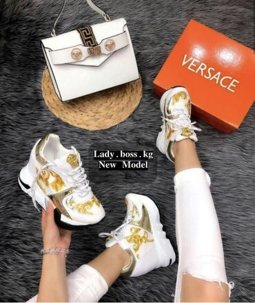 dzhinsy versace в Кыргызстан: Шикарные кроссовки Versace  всего за 3500 сом Успейте приобрести по су
