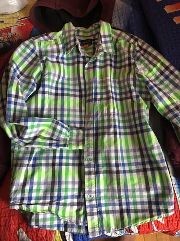 детская джинсовая рубашка в Азербайджан: Рубашка на мальчика. Размер 10-12. Производство США