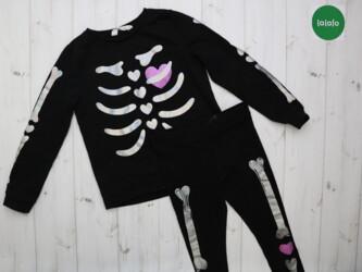 Детский мир - Украина: Детский маскарадный костюм скелет H&M, возраст 8-10 лет    Кофта