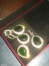 В набор входит кольцо, серьги, кулон в Бишкек