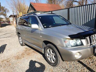 автомобильные шины для внедорожников в Кыргызстан: Toyota Kluger 2.4 л. 2002