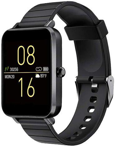 Smart watch Qol saatıYenidir.- Metal çərçivə ve tpu lentlə təchiz