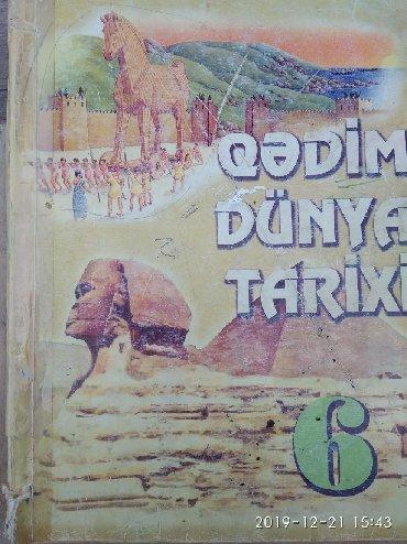 dunya kartasi - Azərbaycan: Qədim dünya tarixi - 6 sinif