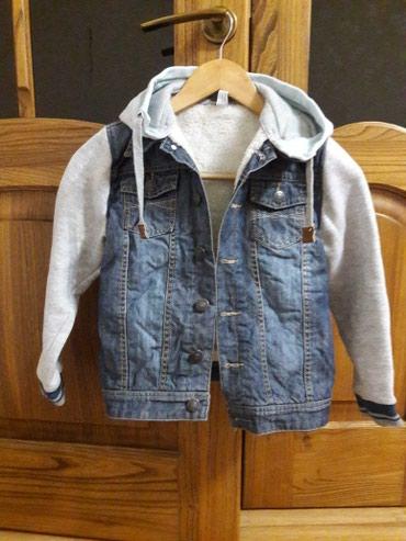 Джинсовая, теплая курточка на в Бишкек