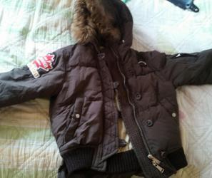 пуховые куртки в Кыргызстан: Женские куртки Dsquared2 S