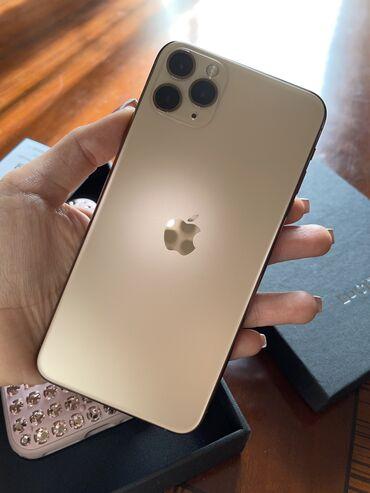 Мобильные телефоны и аксессуары - Азербайджан: IPhone 11 Pro Max   256 ГБ   Золотой   Б/У