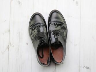 Туфли женские на тракторной подошве,р.39 Длина подошвы: 27 см  Состоян