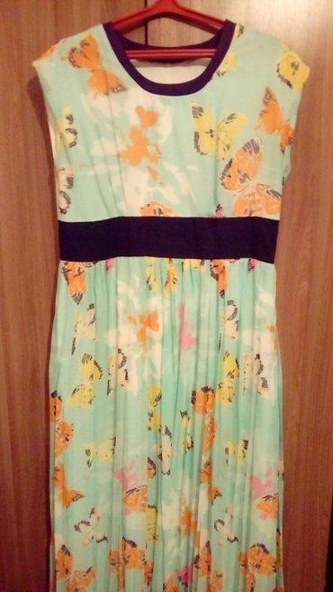 Летнее элегантное платье для дам размер 48/50 в Бишкек