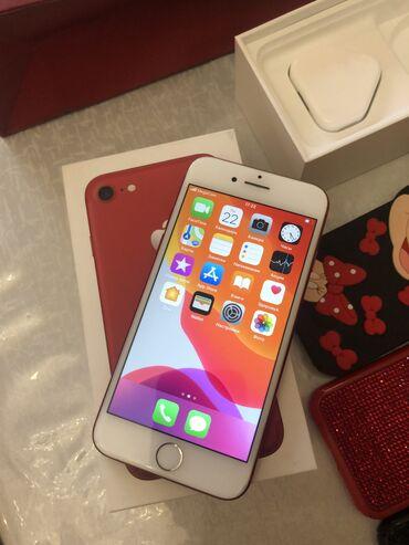 ноутбук айфон в Кыргызстан: Б/У iPhone 7 128 ГБ Красный