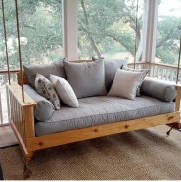 75 объявлений: Подвесные диваны качели. Это полноценный диван с широким сиденьем