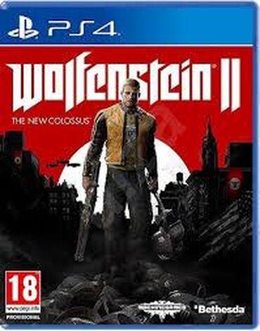 playstation 1 2 3 4 5 in Azərbaycan | DƏSTLƏR: Wolfenstein 2 the New colossus. PlayStation 4 Oyunlarının Və