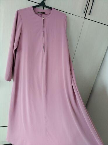 Продаю б/у платье хиджаб, дубайский шёлк, окончательная цена