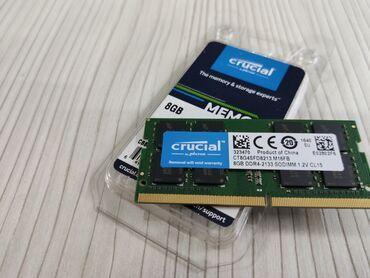 Продаю почти новую оперативную память Crucial 8гб DDR4-2133 SODIMM