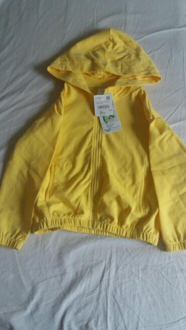 Dečija odeća i obuća - Sombor: Duks novi pamucni vel 122 kupljen u ca ima etiketu cena 600din
