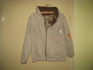 Lepa tdi jakna sa kapuljacom. Duzina 56; sirina 50, duzina rukava do - Zrenjanin