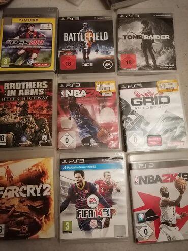 Igrice za PS 3 Originalne igrice za PS 3, igrane jednom ili ni jednom