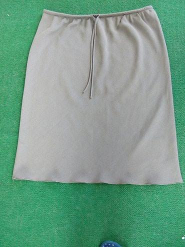 Pantalone boja maslinasto zelena kvalitetne super meka - Srbija: Suknja maslinasto zelena