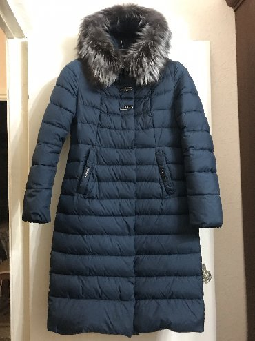 Женские пальто в Кыргызстан: Продаю зимнее, тёплое пальто 48 размера (наполнитель синтепон) в