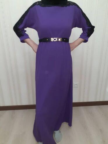 Новое платье очень красивое размер 44-46, гипюровые вставки
