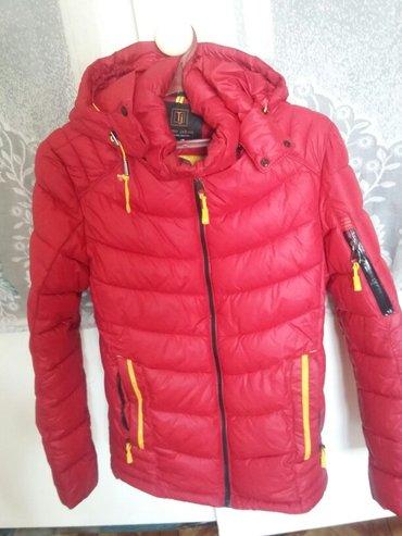 продаю муж куртку  почти новая размер 40-42 очень теплая в Бишкек