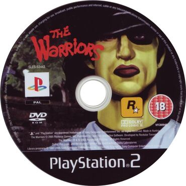 Elektronika Qubada: Ps2 The Warriors ( Rockstar Games )