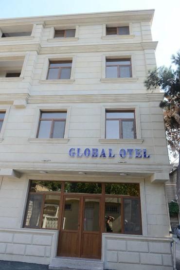 otaq - Azərbaycan: Global Hotel baku cay coffee su pulsuz, bir gunu iki neferlik otaq