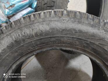 куплю диски на 16 бу в Кыргызстан: Продаю зимние хорошие шины размер 16 цена 2500с