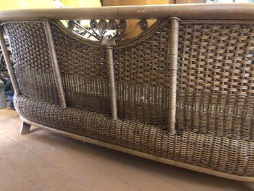 Новый мебельный набор из натурального ротангасостоит дивана2хкресе